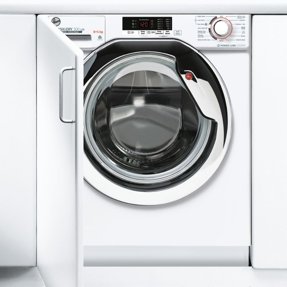 Hoover HBDS485D2ACE 8kg Fully Integrated Washer Dryer