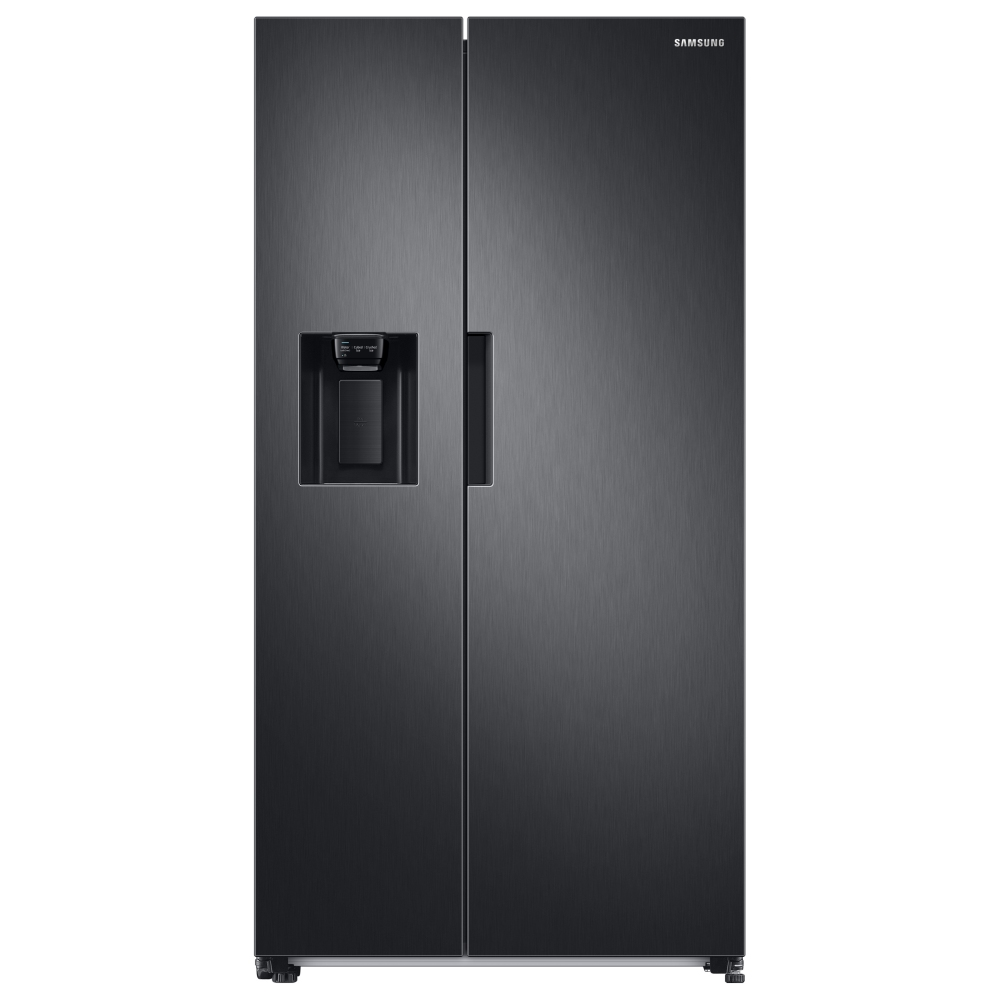 Samsung RS67A8810B1 American Style Fridge Freezer With Ice & Water - BLACK STEEL