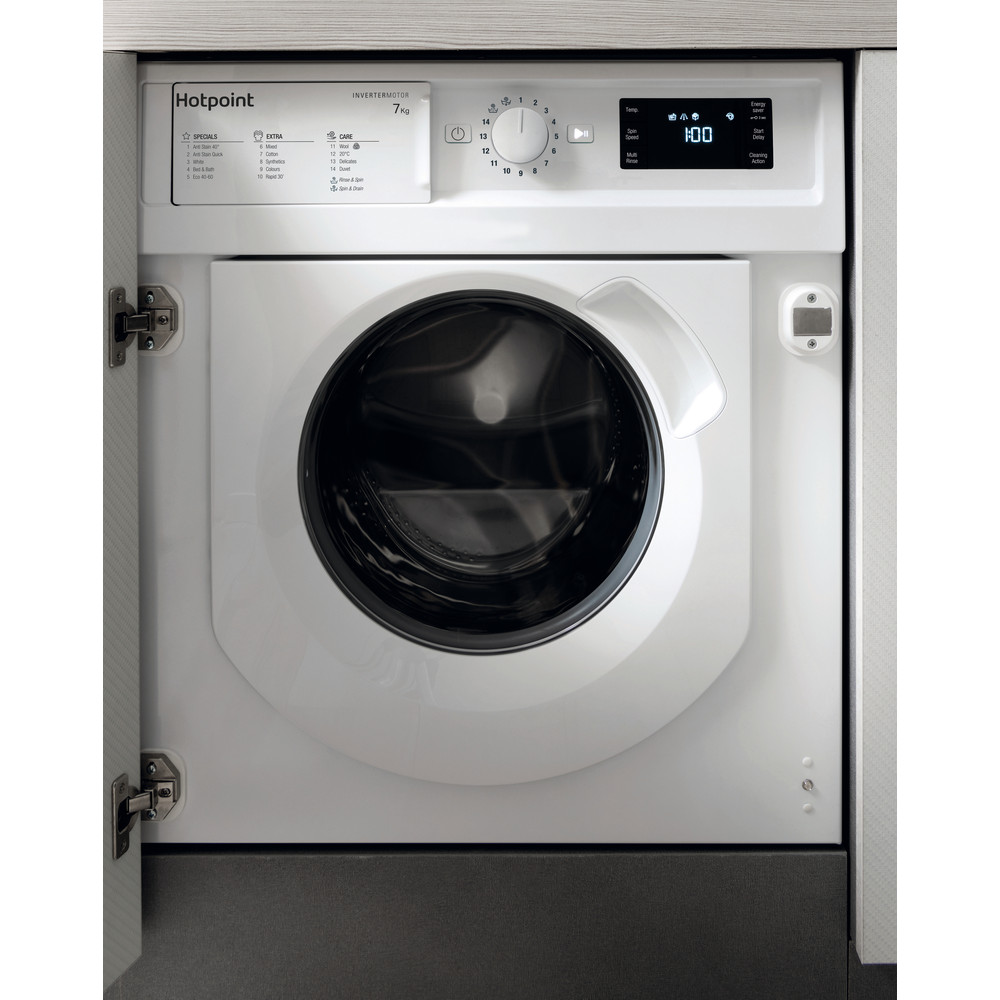 Hotpoint WMHG71483UKN 7kg Fully Integrated Washing Machine