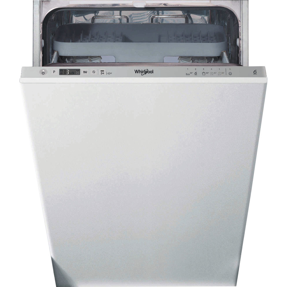 Whirlpool WSIC3M27CUKN 45cm Fully Integrated Dishwasher