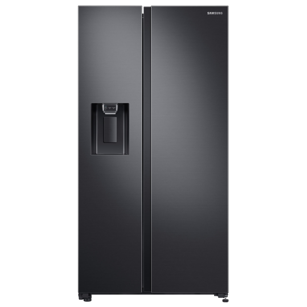 Samsung RS65R5401B4 American Style Fridge Freezer With Ice & Water - BLACK STEEL