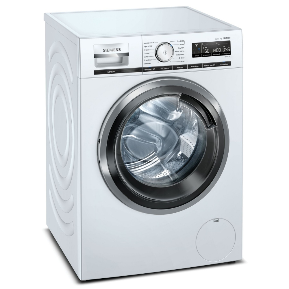 Siemens WM14VMH4GB 9kg IQ-500 Washing Machine 1400rpm - WHITE