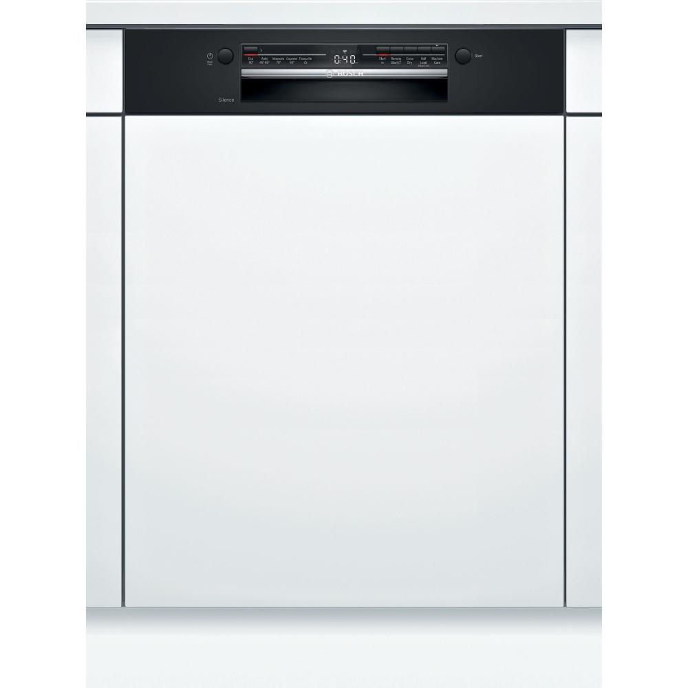 Bosch SMI2ITB33G Serie 2 60cm Semi Integrated Dishwasher - BLACK