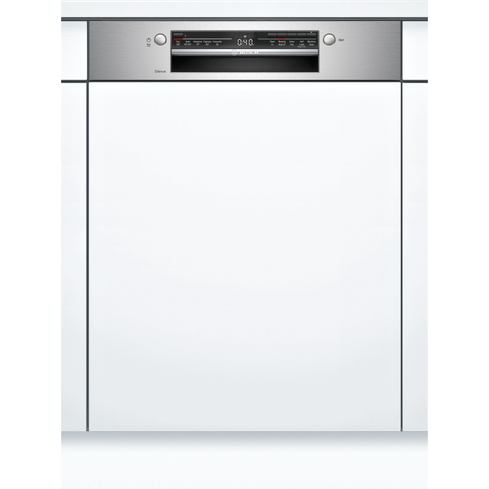 Bosch SMI2ITS33G Serie 2 60cm Semi Integrated Dishwasher - STAINLESS STEEL