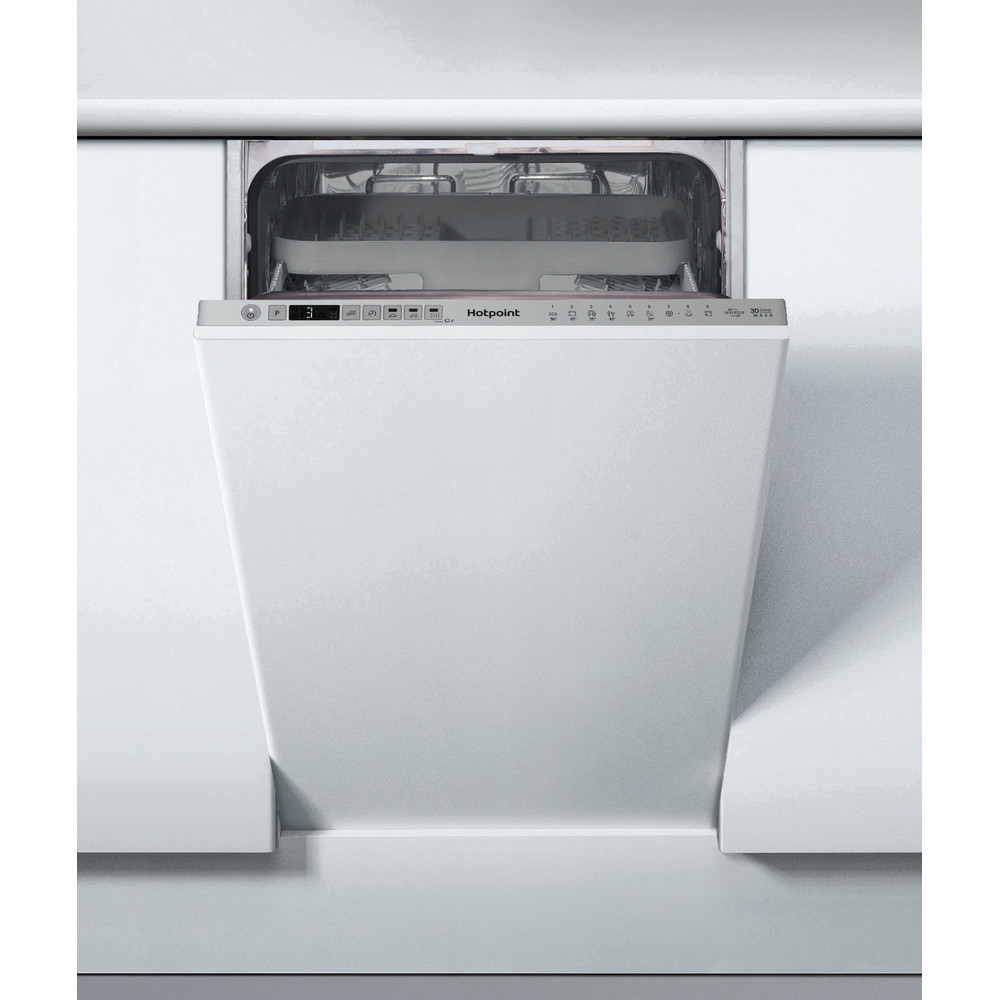 Hotpoint HSIO3T223WCEUKN 45cm Fully Integrated Dishwasher