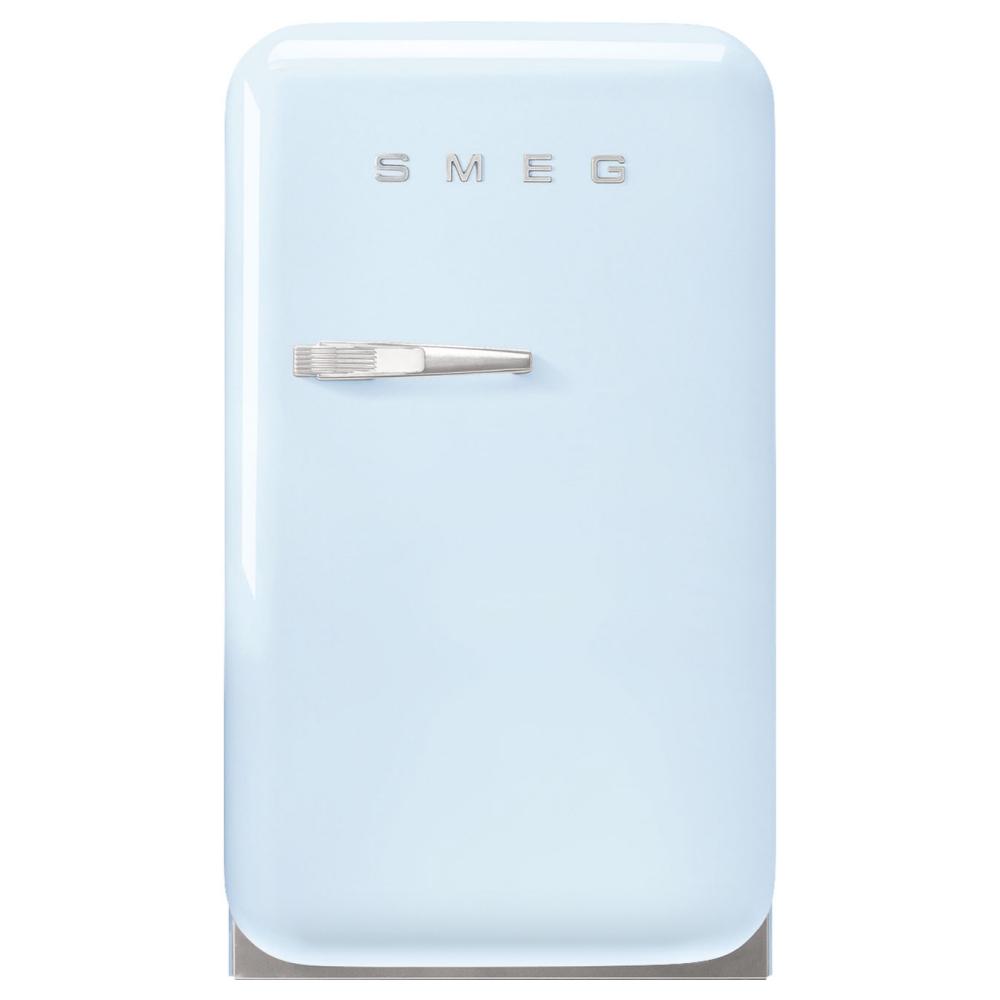 Smeg FAB5RPB5 Retro Mini Bar Fridge Right Hand Hinge - PASTEL BLUE