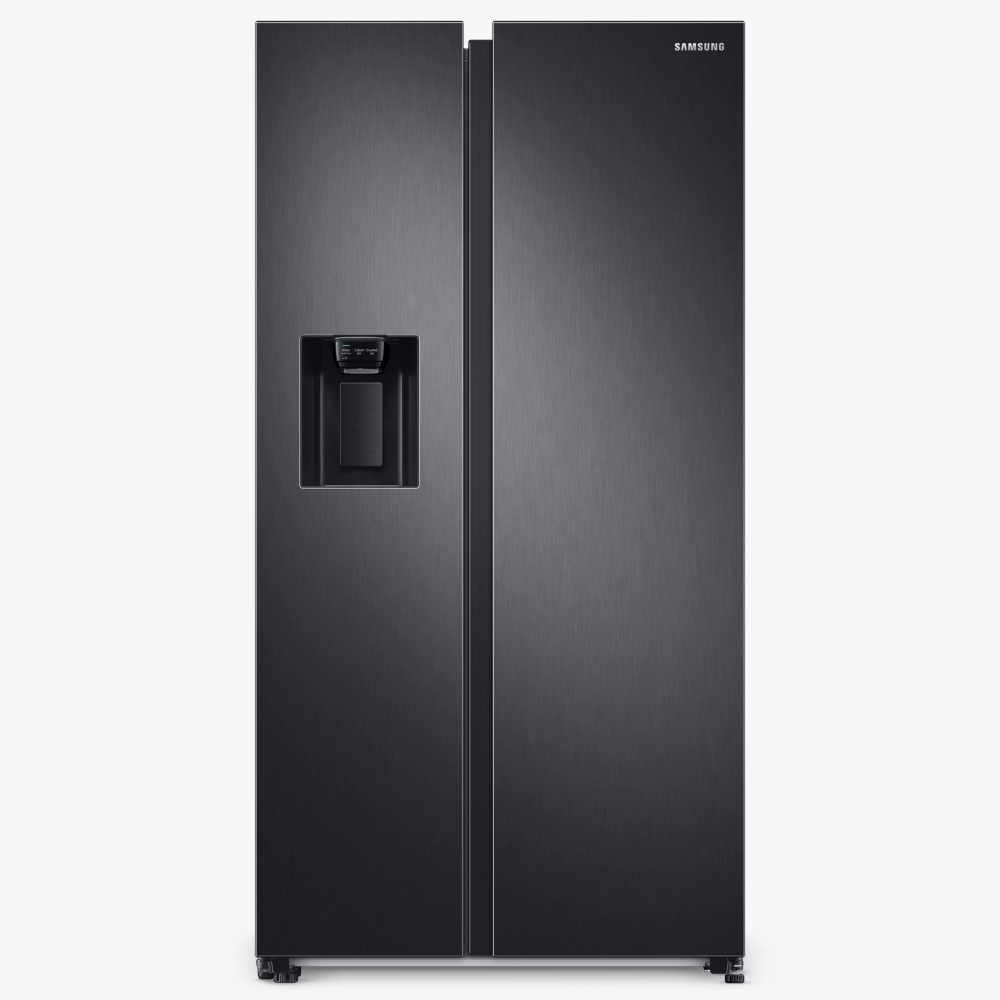 Samsung RS68A8830B1 American Style Fridge Freezer With Ice & Water - BLACK STEEL