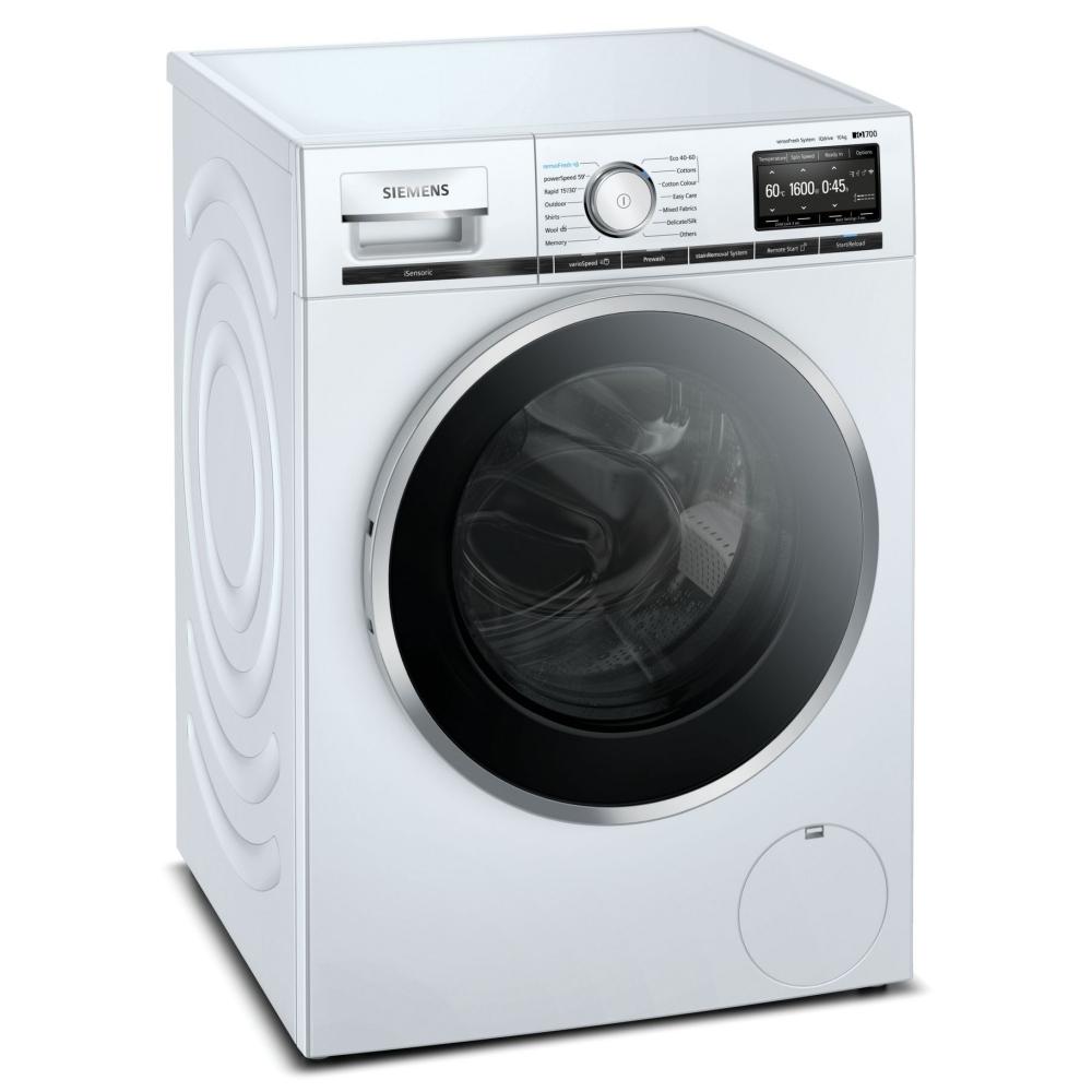 Siemens WM16XFH5GB 10kg IQ-700 Washing Machine 1600rpm - WHITE