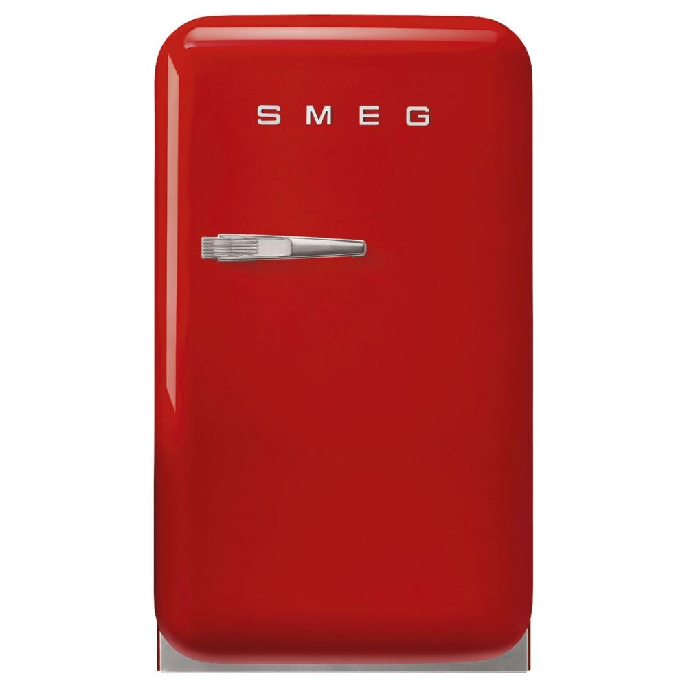 Smeg FAB5RRD5 Red Retro Mini Bar Fridge Right Hand Hinge - RED