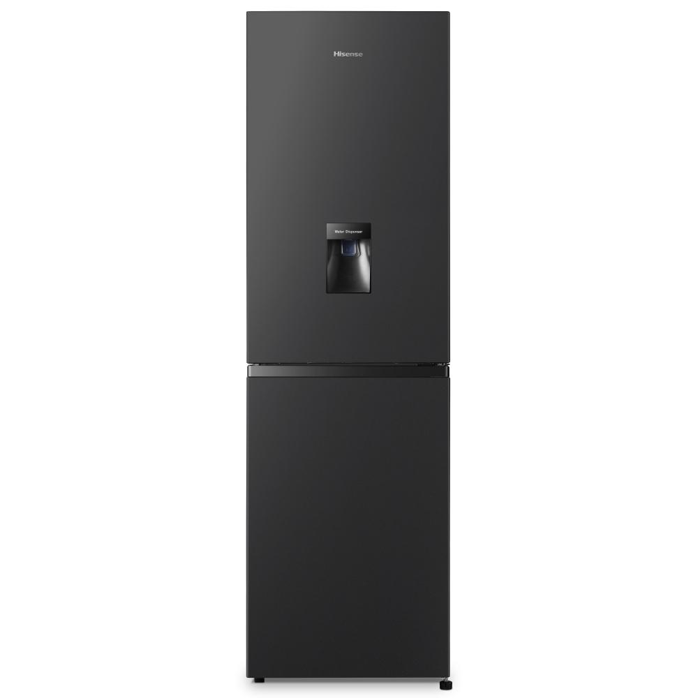 Hisense RB327N4WB1 55cm Frost Free Fridge Freezer - BLACK