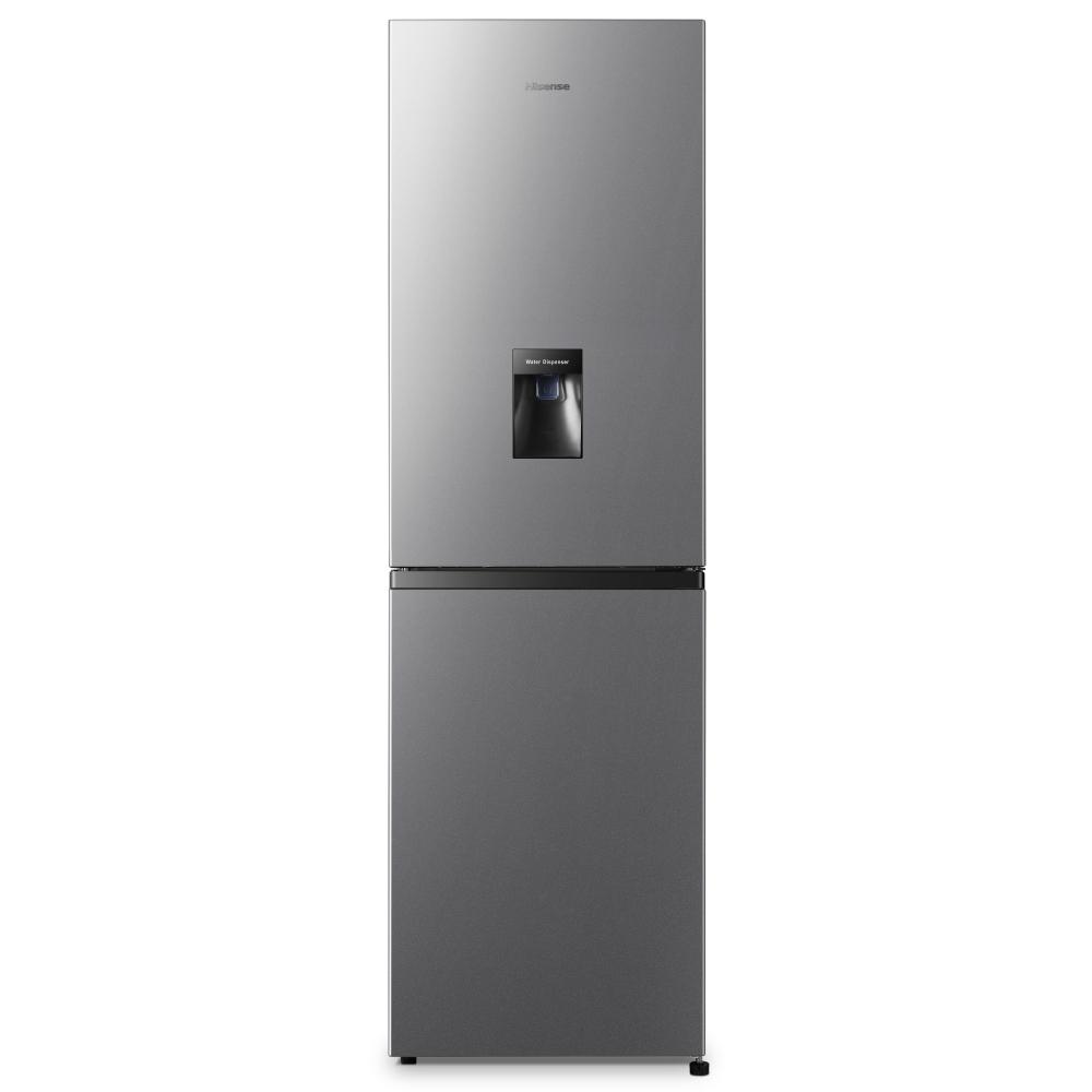 Hisense RB327N4WC1 55cm Frost Free Fridge Freezer - SILVER