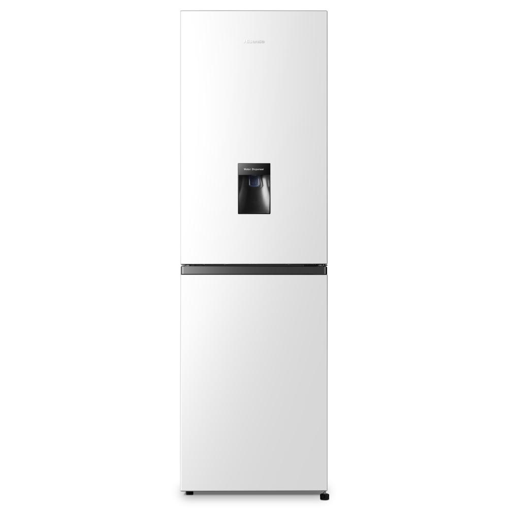 Hisense RB327N4WW1 55cm Frost Free Fridge Freezer - WHITE