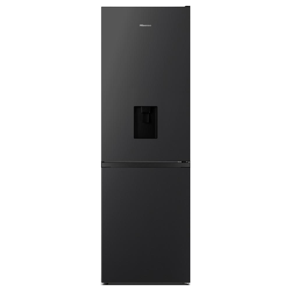 Hisense RB390N4WB1 60cm Frost Free Fridge Freezer - BLACK