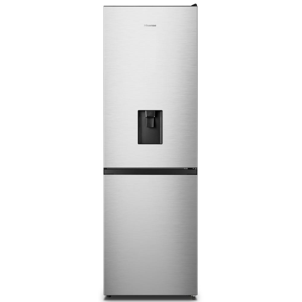 Hisense RB390N4WC1 60cm Frost Free Fridge Freezer - SILVER