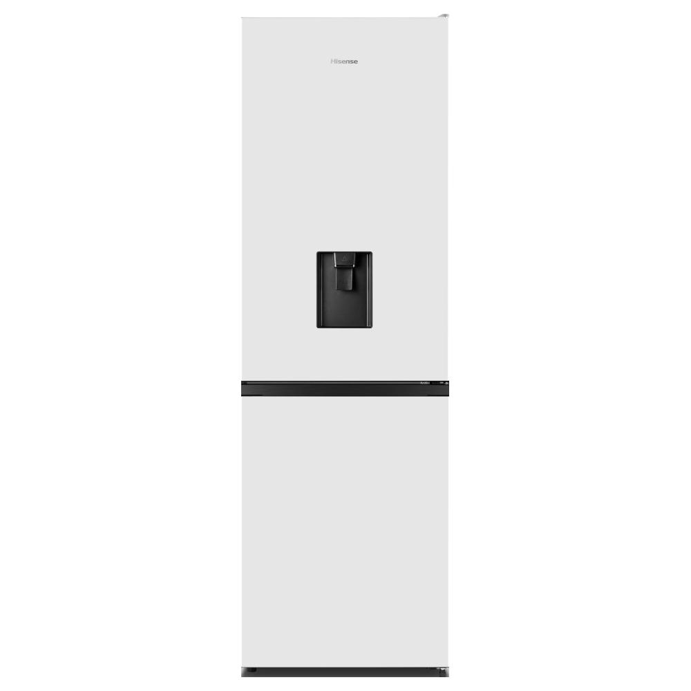 Hisense RB390N4WW1 60cm Frost Free Fridge Freezer - WHITE