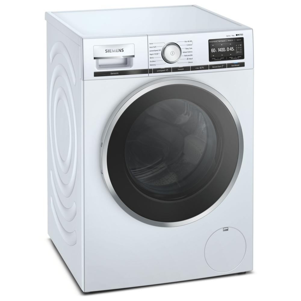 Siemens WM14XEH5GB 10kg IQ-700 i-DOS Washing Machine 1400rpm - WHITE
