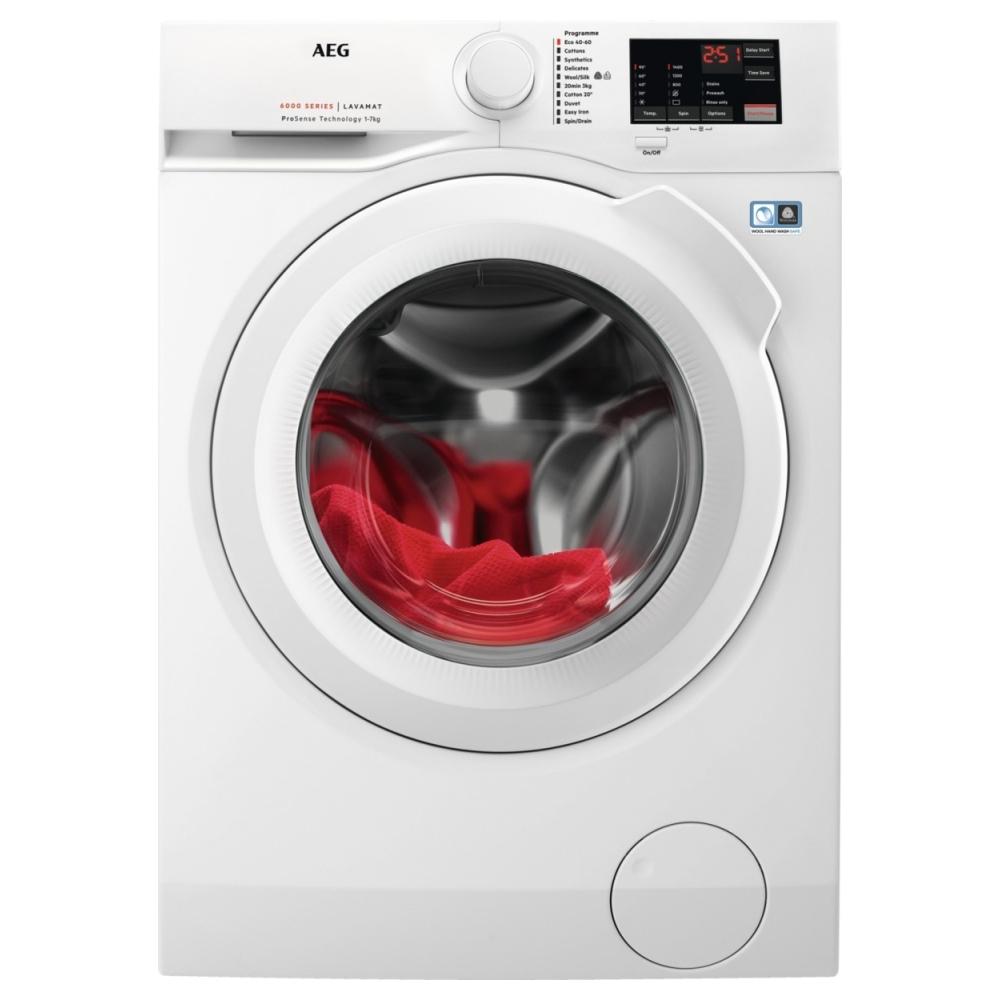 AEG L6FBJ741N 7kg Washing Machine 1400rpm - WHITE