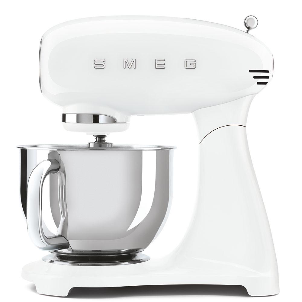 Smeg SMF03WHUK Retro Stand Mixer - WHITE