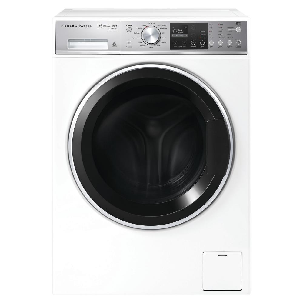 Fisher Paykel WH1260F2 12kg Freestanding Washing Machine 1400rpm - WHITE